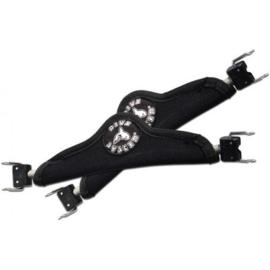 DiveSystem Spring straps met neoprene cover