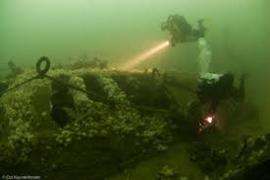 Noordzee duiken voor diveteam divearound