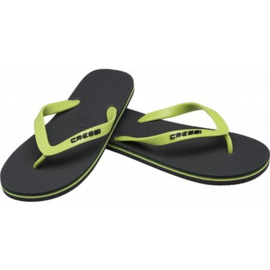 Cressi Beach Flip Flops Donker Groen-Lime