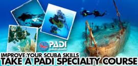 PADI Specialty Instructeur