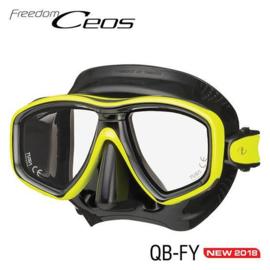Tusa Freedom Ceos Zwart Masker, meerdere kleuren
