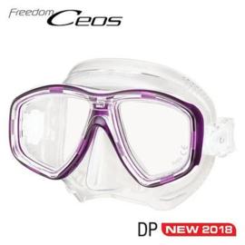Tusa Freedom Ceos Transparant Masker, meerdere kleuren
