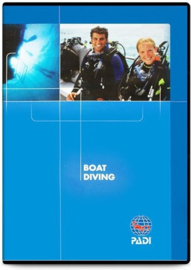 PADI 70930 Boat Diver Specialty DVD - Boat Diving Engels!