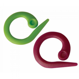 Knit pro split ring markeerders 30 stuks