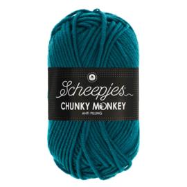 Chunky Monkey Teal 1829
