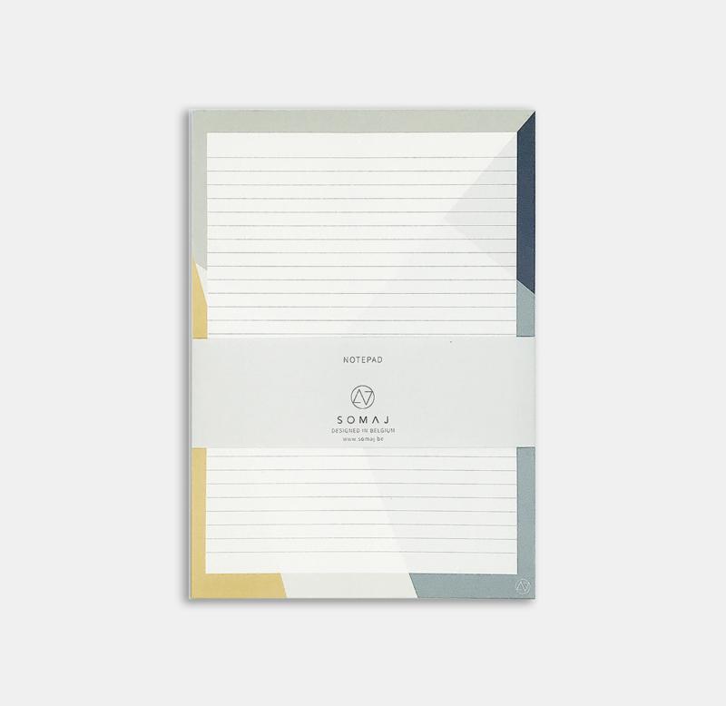 SUNNY SHAPES NOTEPAD (x5)