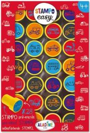 Aladine Stempelen : Stampo Easy Auto's - 3622