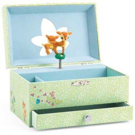 Djeco : Juwelen- Muziekdoos Bambi - 6598