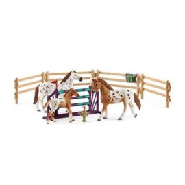 Schleich : Paarden Tornooi Trainingsset - 42433
