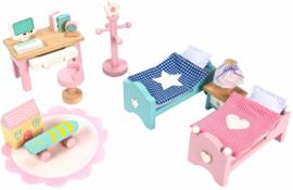 Le Toy Van : Poppenhuiskamer Daisylane Kinderkamer - ME061