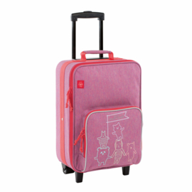 "Lässig Trolley ""About Friends Pink"""