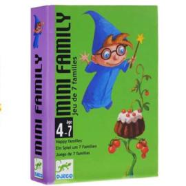 Djeco : Kwartetspel Mini Family - 5101