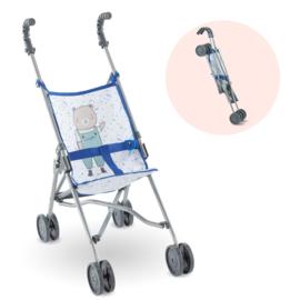 Corolle Blauwe Buggy voor 36 cm en 42 cm babypop  - 14073