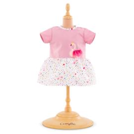 Corolle Poppenkleding Baby 36 cm Jurk Swan Royale - 14059