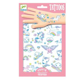 Djeco : Tattoos Eenhoorns - 9575