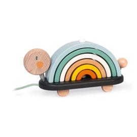Janod : Sweet Cocoon Regenboogschildpad - 4405