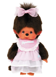 Monchhichi : Meisje Dreamy Pink Dress - 221165