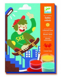 Knutselen : Zandschilderij - Skater - 8658