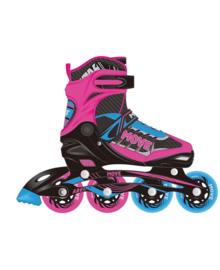 Inline Skates : Fast Girl Pink - 9911S