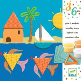 Djeco : Boetseren met Plasticine Patronen en Vormen