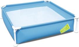 Zwembad Blauw Vierkant - 56217B