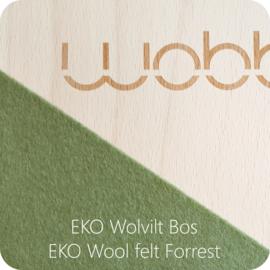 Wobbel : Original Blank Gelakt - Vilt Bos