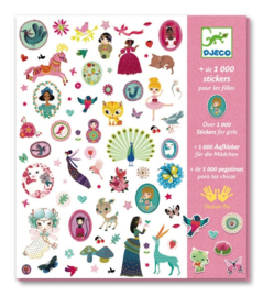 Djeco : 1000 Stickers Roze