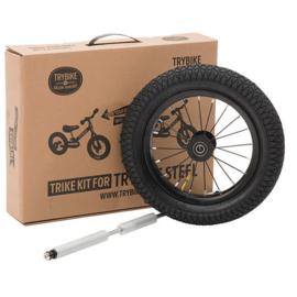 Trybike Steel :  Extra Wielset zwart