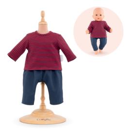 Corolle Poppenkleding Baby 36 cm Gestreept t-shirt en Broek - 14063