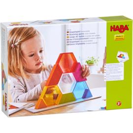 Haba : Stapelspel Kleurenkristallen