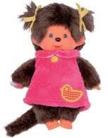 Monchhichi : Meisje Fluffy Jurk - 223572