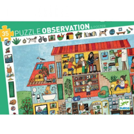 Djeco : Puzzel Mijn Huis 35 pcs - 7594