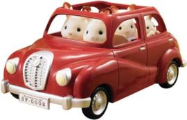 Sylvanian Families : Rode Familie Auto - 5273