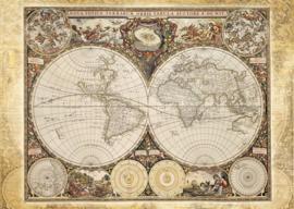 Schmidt : Puzzel 2000 stukken Historische Kaart van de Wereld - 58178