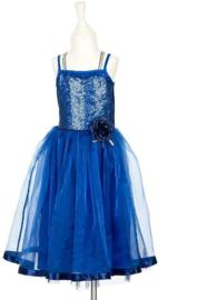 Souza : Diepblauwe Prinsessenjurk Gabrielle 3-4 jaar - 542