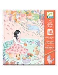 Djeco : Kraskaarten Picknick - 9738