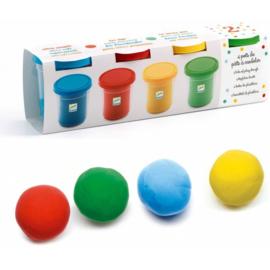 Djeco : Plasticine Basiskleuren - 9756