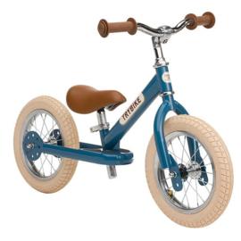 Evenwichtsfiets Trybike Steel : Blue Vintage Loopfiets