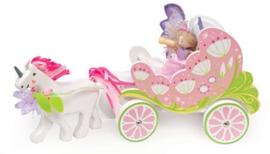 Le Toy Van : Feëen Paardenkoets met Eenhoorn - TV642