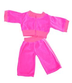 Living Puppets : Kledij  65 cm Roze Jogging - W635
