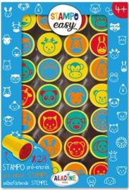 Aladine Stempelen : Stampo Easy Dierengezichten - 3627