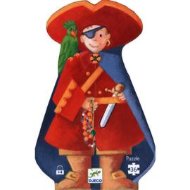 """Djeco : Puzzel 36 st """"De Piraat en zijn Schat"""""""