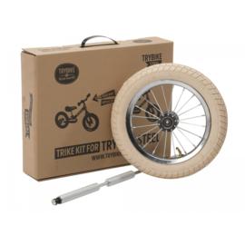 Trybike Steel :  Extra Wielset Vintage (wit)