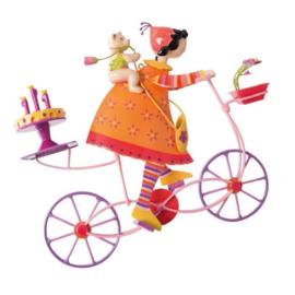 "L'Oiseau Bateau : Decoratieve Fiets ""Verjaardagstaart"" - TRI0038"