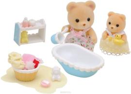 Sylvanian Families : Baby's badtijd - 5092
