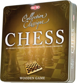 """Tactic : Spel """"Houten Schaakbord"""" - 14001"""