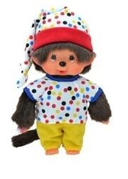 Monchhichi : Jongen 20 cm Gekleurde Outfit - 335223190