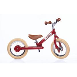Evenwichtsfiets Trybike Steel : Red Vintage Loopfiets