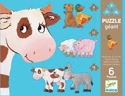 Djeco : Reuze Puzzel Margarita en Vrienden - 7111
