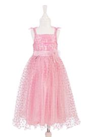 Souza : Roze Jurk met hartjesrok Rosalyn 8-10 jaar - 424
